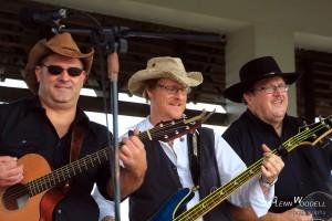 Bill Morris, Glenn Woodell, and Bill Miles