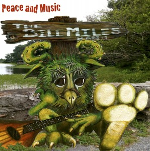 Peace and Music CD cover art by Cynthia Newton